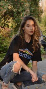 Portland Mt Hood – Unisex T Shirt