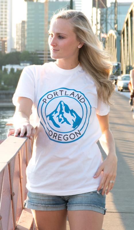 Portland Oregon Mt Hood - White
