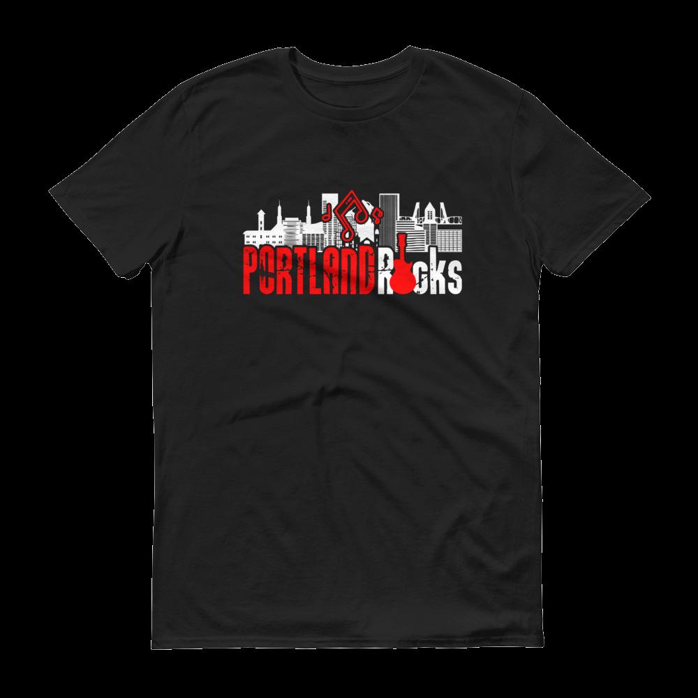 Portland Rocks - T Shirt - Black