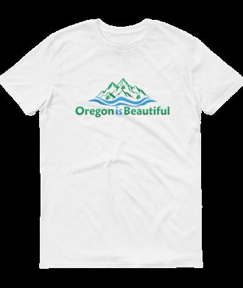 Oregon is Beautiful - White