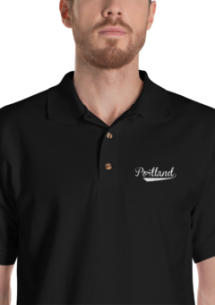 Portland - Embroidered Polo Shirt