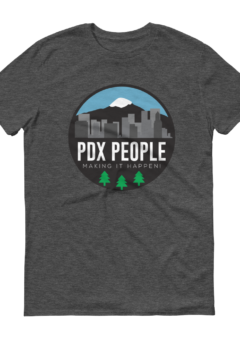 PDX People Cityscape - T Shirt - 2