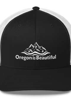 Oregon is Beautiful - Retro Trucker Cap