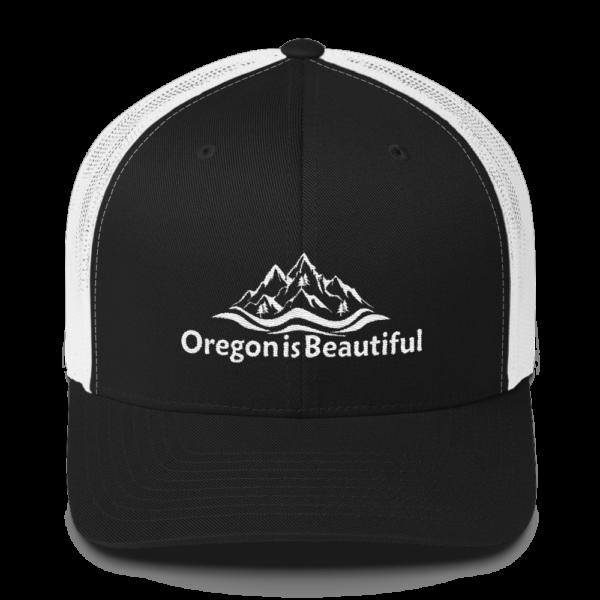 Oregon is Beautiful - Retro Trucker Cap