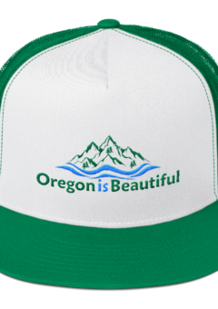 Oregon is Beautiful - Five Panel Trucker Cap