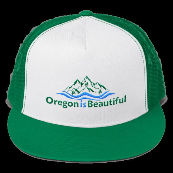 Oregon is Beautiful - Five Panel Trucker Cap