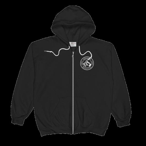 Oregon Beautiful - Full-Zip Hooded Sweatshirt - Front