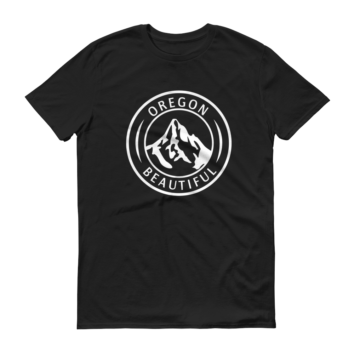 Oregon Beautiful - T Shirts - Black