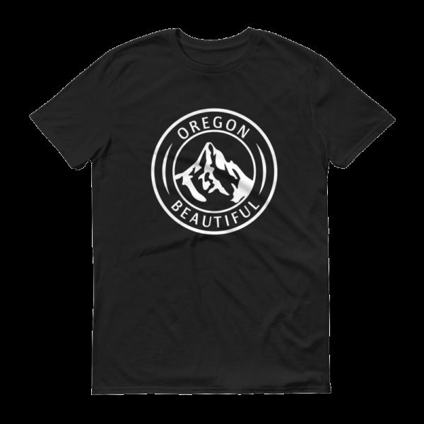 Oregon Beautiful - T Shirts - Black