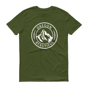 Oregon Beautiful - T Shirts - City Green