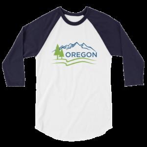 Oregon - Fine Jersey Raglan Tee