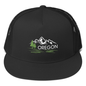 Oregon - Five Panel Trucker Cap