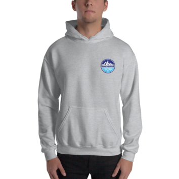 Oregon is Beautiful - Heavy Blend Hooded Sweatshirt - Grey