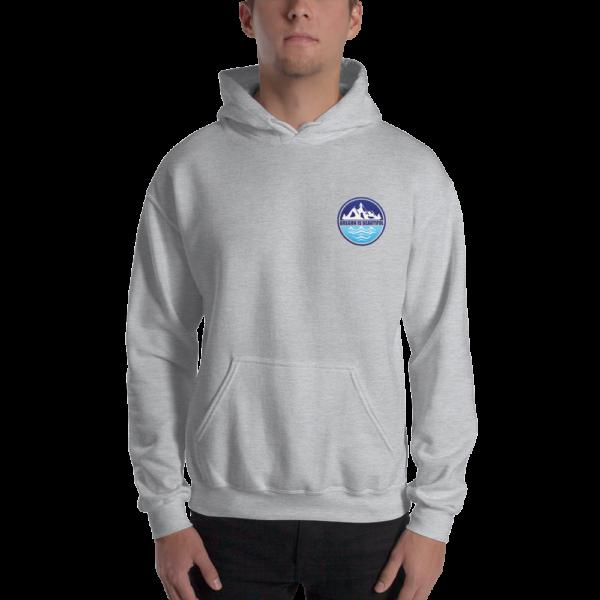 Oregon is Beautiful - Heavy Blend Hooded Sweatshirt - Grey