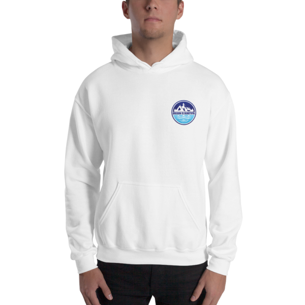 Oregon is Beautiful - Heavy Blend Hooded Sweatshirt - White