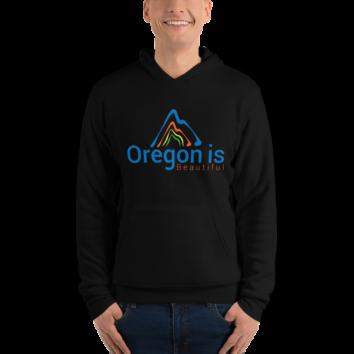 Oregon is Beautiful - Unisex Hoodie