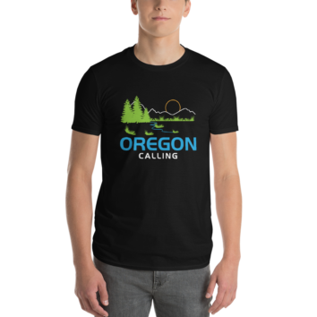 OREGON CALLING - Unisex T Shirt - Male