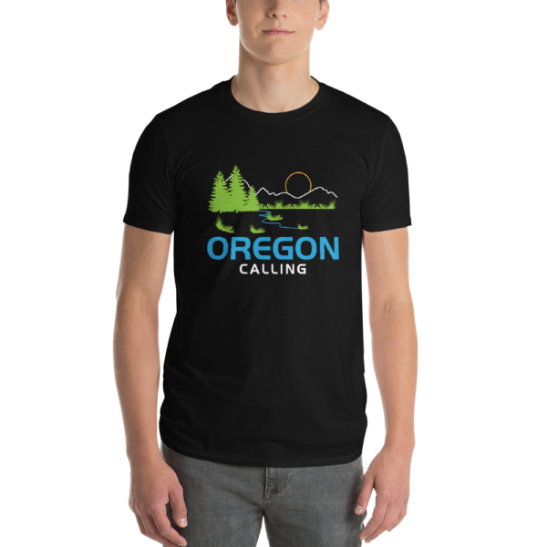 OREGON CALLING - Unisex T Shirt - Male