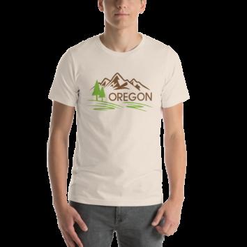 Oregon - Unisex T Shirt - Cream