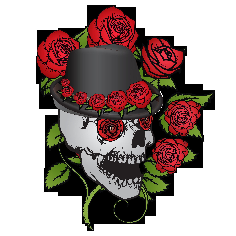 Skull & Roses - Forever Frida