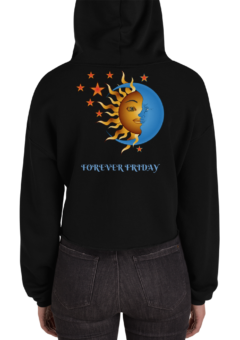 Sun and Moon Cropped Hoodie