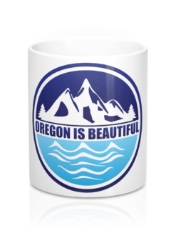 Oregon is Beautiful Coffee Mug