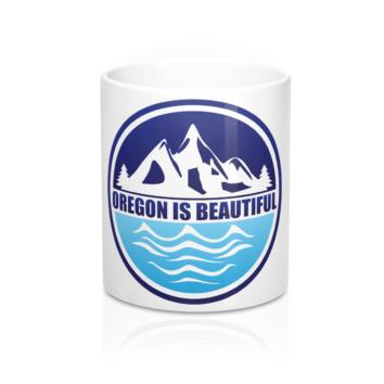Oregon is Beautiful Coffee Mug