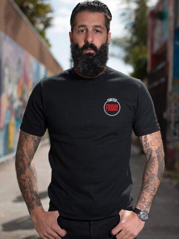 American Flag - Skull - Unisex T Shirt - Front