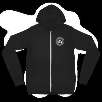 Portland Oregon - Unisex - Light Weight Zip Hoodie