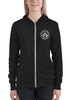 Portland Oregon - Unisex - Light Weight Zip Hoodie