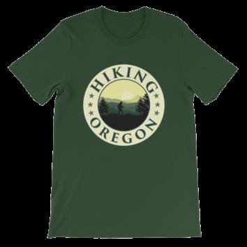 Hiking Oregon - Unisex T Shirt