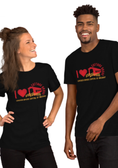 I Love Covered Bridges - Unisex T Shirt