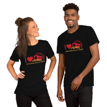 I Love Covered Bridges - Unisex T Shirt