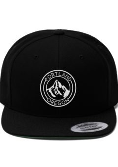 Portland Oregon - Unisex Flat Bill Hat
