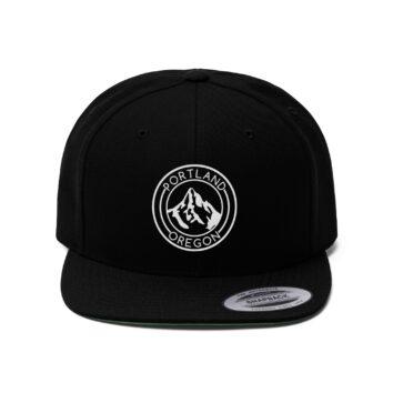 Portland Oregon - Unisex Flat Bill Hat