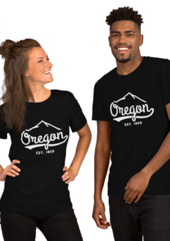 Oregon - EST 1859 - T Shirt