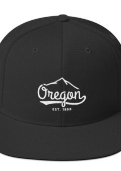 Oregon EST 1859 - Unisex Flat Bill Hat