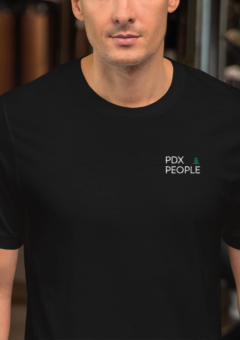 PDX People - Embroidered Tee Shirt