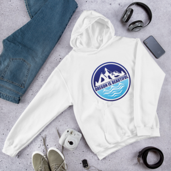 Oregon is Beautiful - MTN and SEA - Hoodie