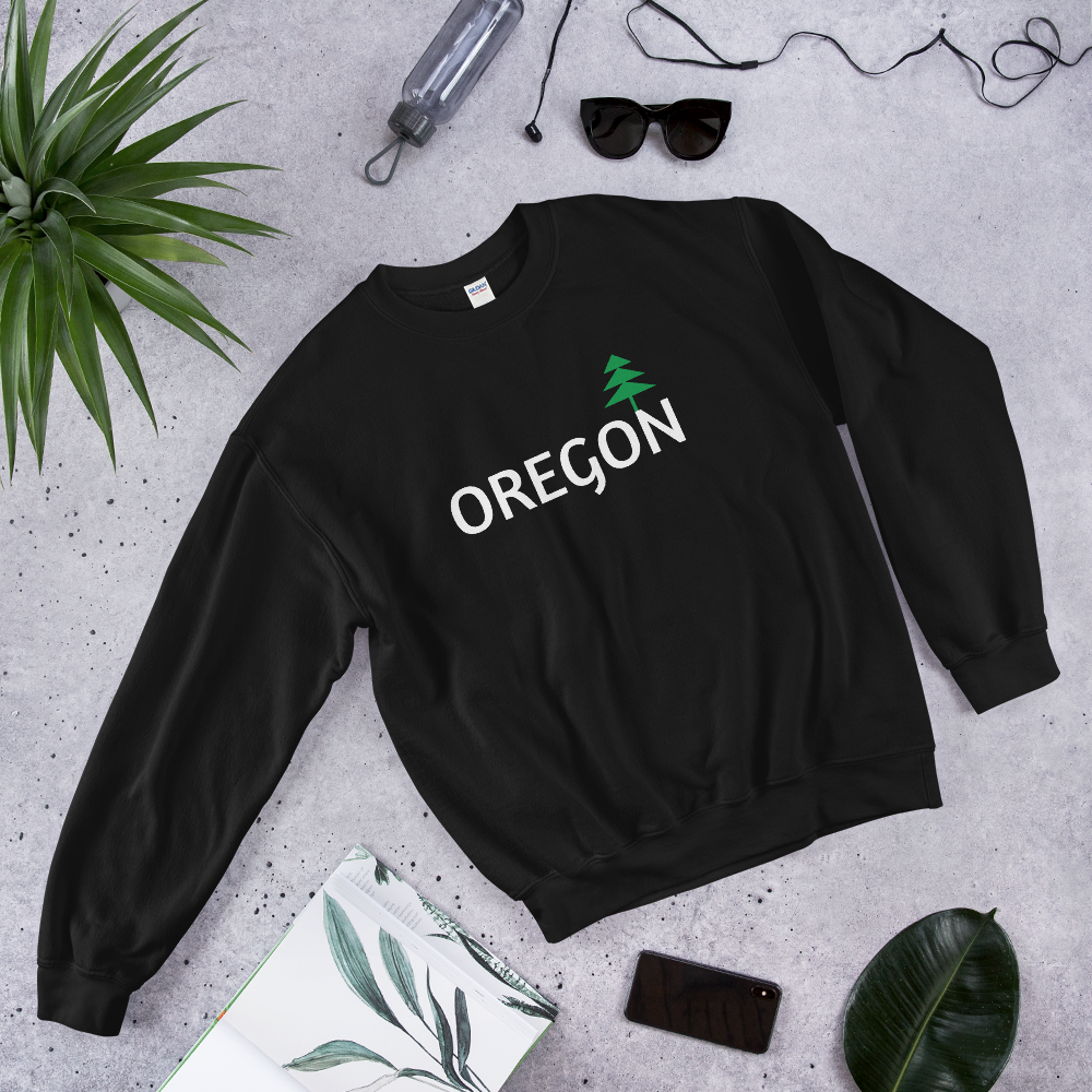 OREGON - Crew Neck Sweatshirt