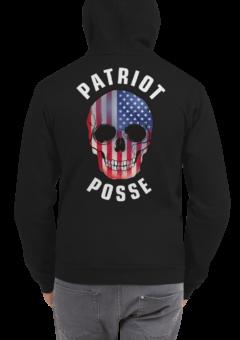 Patriot Posse - Skull - Zip Hoodie