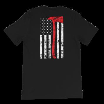 Thin Red Line - T Shirt