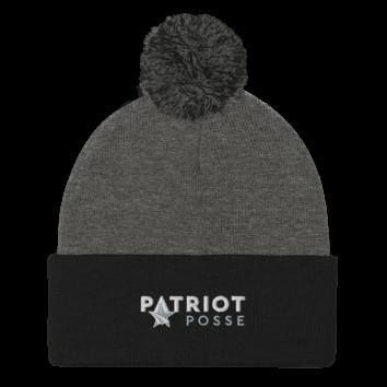 Patriot Posse - Pom Pom Beanie