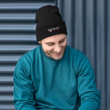 Patriot Posse - Embroidered Beanie