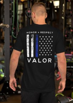 Thin Blue Line - T Shirt