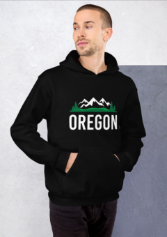Oregon Mountains - Hoodie