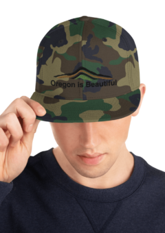 Oregon is Beautiful - Camo Hat