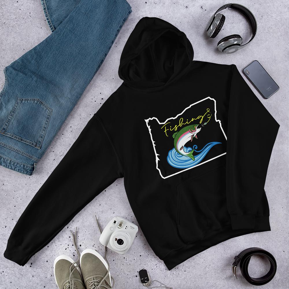 Fishing Oregon - Hoodie