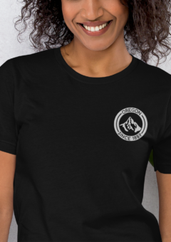 Oregon - Mt Hood - Embroidered T Shirt