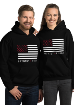 Patriot Posse - Red Star Flag - Hoodie